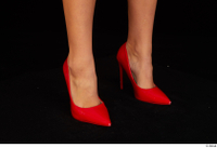 Victoria Pure foot red high heels shoes 0002.jpg