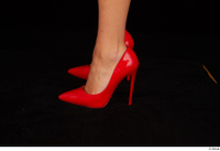 Victoria Pure foot red high heels shoes 0007.jpg