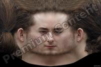 Young man head premade texture 0001