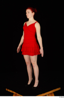 Vanessa Shelby red dress standing whole body 0008.jpg