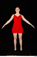 Vanessa Shelby red dress standing whole body 0009.jpg