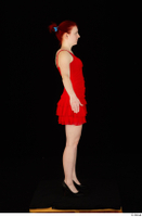 Vanessa Shelby red dress standing whole body 0011.jpg