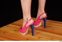 Lady Dee foot pink high heels shoes 0004.jpg