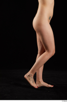 Lady Dee  1 flexing leg nude side view 0005.jpg