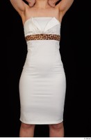 Rania dressed formal hips trunk upper body white dress 0001.jpg
