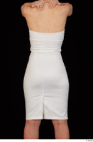 Rania dressed formal hips trunk upper body white dress 0005.jpg