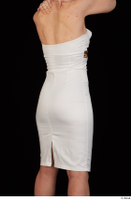 Rania dressed formal hips trunk upper body white dress 0006.jpg