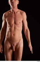 Joseph  1 arm flexing front view nude 0001.jpg