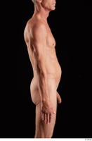 Joseph  1 arm flexing nude side view 0001.jpg