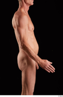 Joseph  1 arm flexing nude side view 0002.jpg
