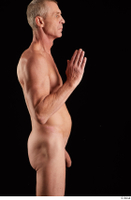 Joseph  1 arm flexing nude side view 0004.jpg