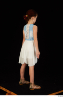 Lilly dress dressed sandals standing whole body 0006.jpg