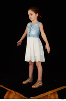 Lilly dress dressed sandals standing whole body 0010.jpg