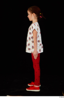 Lilly dressed leggings red shoes standing t shirt trousers whole body 0003.jpg