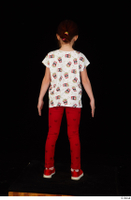 Lilly dressed leggings red shoes standing t shirt trousers whole body 0005.jpg
