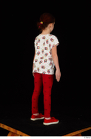 Lilly dressed leggings red shoes standing t shirt trousers whole body 0006.jpg