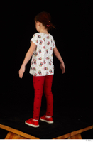 Lilly dressed leggings red shoes standing t shirt trousers whole body 0012.jpg