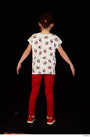 Lilly dressed leggings red shoes standing t shirt trousers whole body 0013.jpg