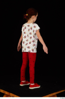 Lilly dressed leggings red shoes standing t shirt trousers whole body 0014.jpg