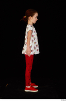 Lilly dressed leggings red shoes standing t shirt trousers whole body 0015.jpg
