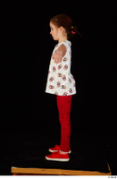 Lilly dressed leggings red shoes standing t shirt t-pose trousers whole body 0003.jpg