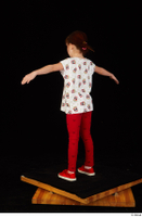 Lilly dressed leggings red shoes standing t shirt t-pose trousers whole body 0004.jpg
