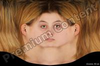 Woman head premade texture 0001