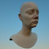 3d Head model Mia